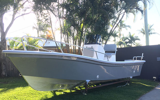 Fiberglass Fishing/Panga Boat 25Ft/7.6M