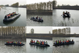 Liya 25feet hypalon inflatable boat have passed the test